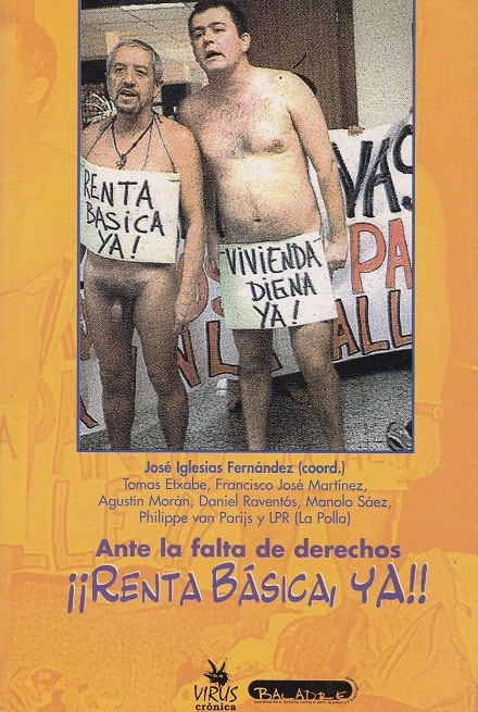 2000 Ante la falta de derechos ¡Renta Básica Ya! insert