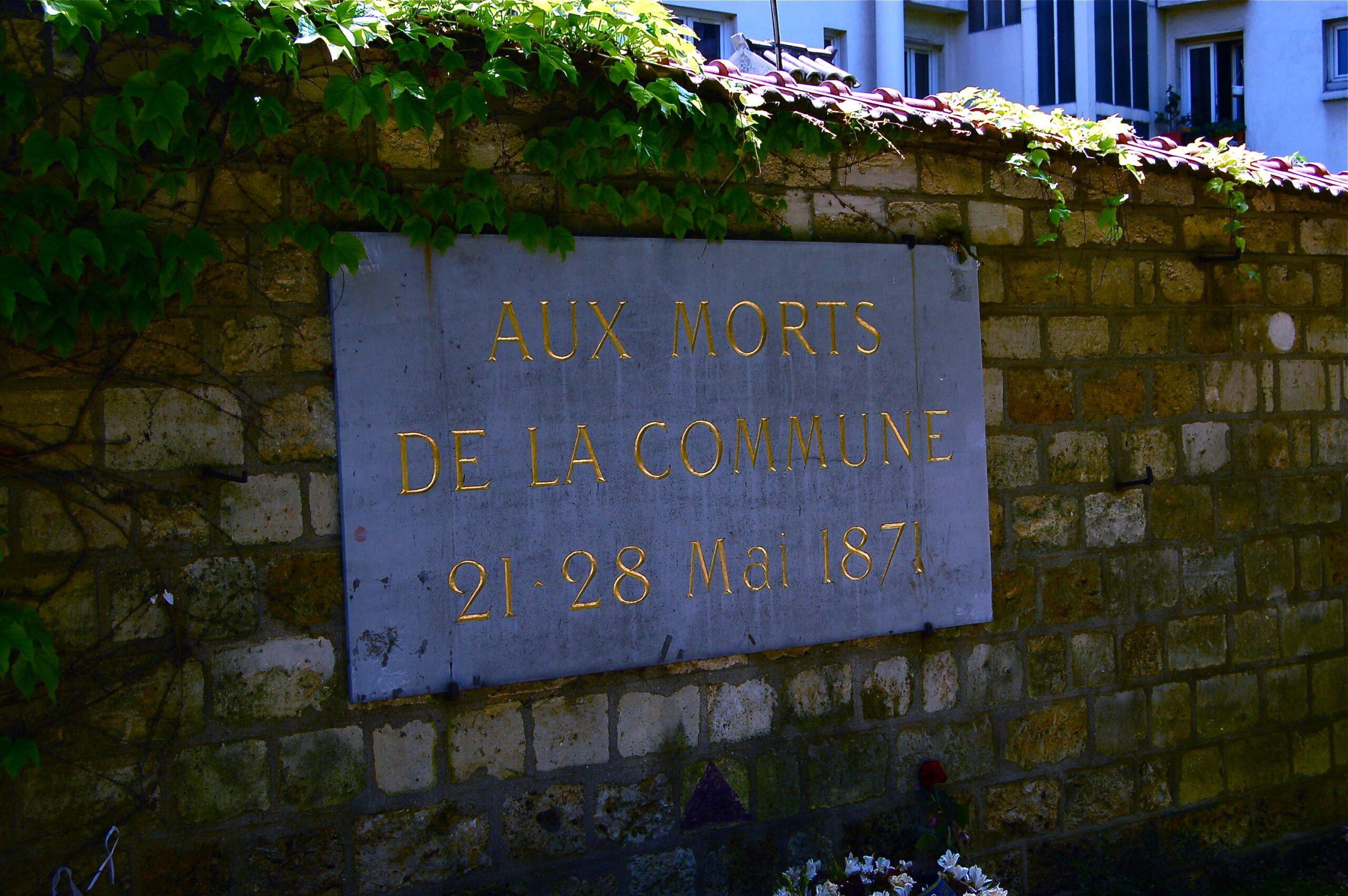 La brújula matriz se mira, y fortalece, en La Comuna de París (1871)